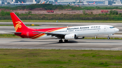 A picture of B5109 - Boeing 73797L - Shenzhen Airlines - © CKG-YCZ