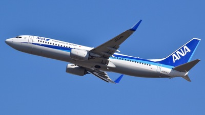 JA82AN - Boeing 737-881 - All Nippon Airways (ANA)