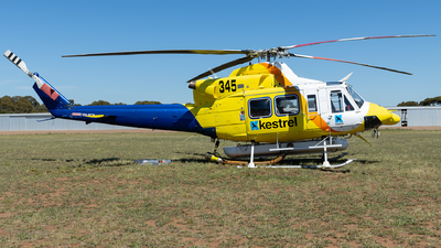 VH-XCN - Bell 412 - Kestrel Aviation