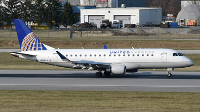 A picture of N748YX - Embraer E175LR - United Airlines - © DJ Reed - OPShots Photo Team