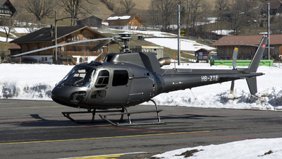 A picture of HBZTE - Airbus Helicopters H125 -  - © sas1965