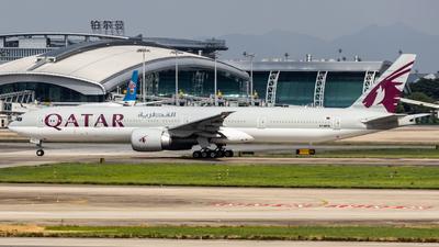 A7-BEG - Boeing 777-3DZER - Qatar Airways