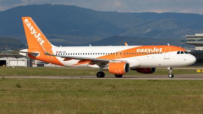 HB-JXQ - Airbus A320-214 - easyJet Switzerland