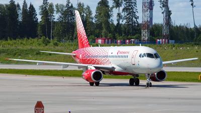 A picture of RA89115 - Sukhoi Superjet 10095B - Rossiya - © Ivan Goreza