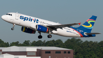 N602NK - Airbus A320-232 - Spirit Airlines