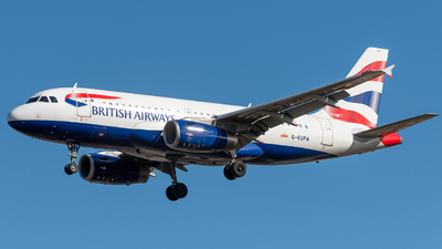 A picture of GEUPA - Airbus A319131 - British Airways - © xuhaoqing995