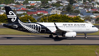 ZK-OXK - Airbus A320-232 - Air New Zealand