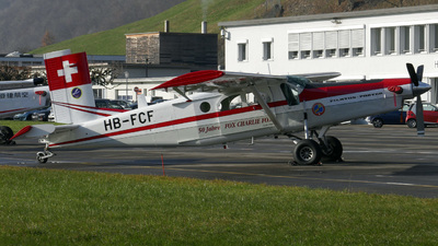 HB-FCF - Pilatus PC-6/B1-H2 Turbo Porter - Switzerland - Air Force