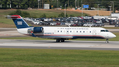 N228PS - Bombardier CRJ-200ER - US Airways Express (PSA Airlines)