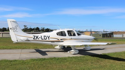 ZK-LDY - Cirrus SR22 - Private