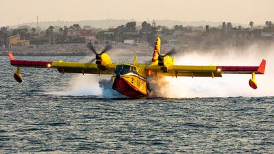 I-DPCZ - Canadair CL-415 - Italy - Vigili del Fuoco