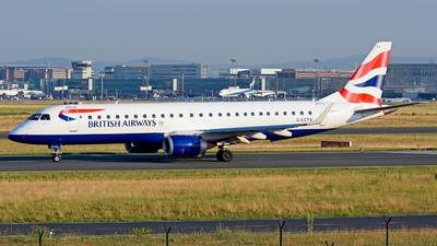 G-LCYV - Embraer 190-100IGW - BA CityFlyer