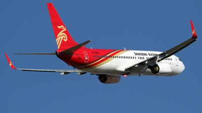 B-5362 - Boeing 737-86J - Shenzhen Airlines