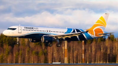 9A-BTG - Airbus A320-212 - Trade Air