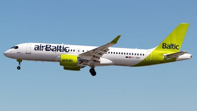 A picture of YLABA - Airbus A220300 - Air Baltic - © Rui Sequeira