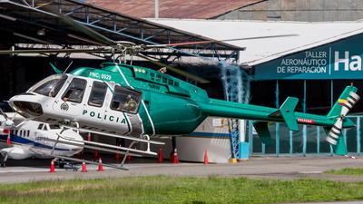 PNC-0929 - Bell 407 - Colombia - Police