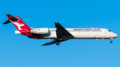 A picture of VHNXQ - Boeing 717231 - Qantas - © Andrew Lesty