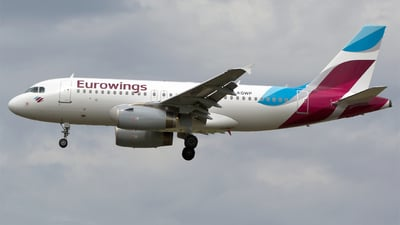 D-AGWP - Airbus A319-132 - Eurowings