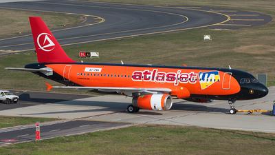 EI-FBA - Airbus A320-233 - AtlasJet Ukraine