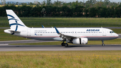 A picture of SXDND - Airbus A320232 - Aegean Airlines - © Raphael Oletu