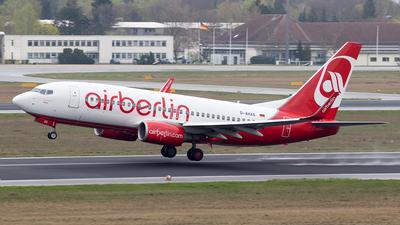 D-AHXG - Boeing 737-7K5 - Air Berlin