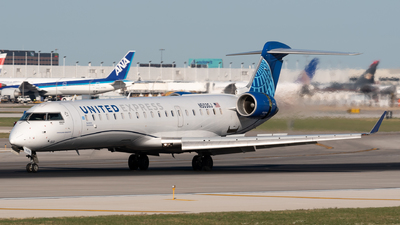 A picture of N503GJ - Mitsubishi CRJ550 - United Airlines - © Ben Suskind