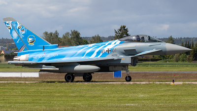 31-01 - Eurofighter Typhoon EF2000 - Germany - Air Force