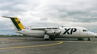 G-TNTR - British Aerospace BAe 146-300(QT) - XP-Express Parcels