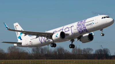 D-AVZC - Airbus A321-253N - Azores Airlines