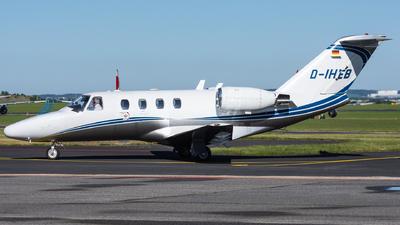 A picture of DIHEB - Cessna 525 CitationJet CJ1 - Silver Cloud Air - © Cibulka Tomas