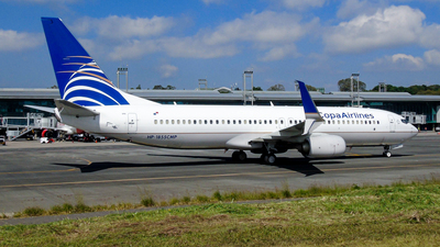 A picture of HP1855CMP - Boeing 7378V3 - Copa Airlines - © David Mendoza