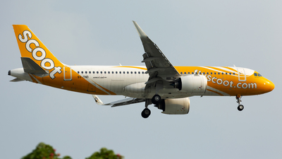 9V-TND - Airbus A320-271N - Scoot