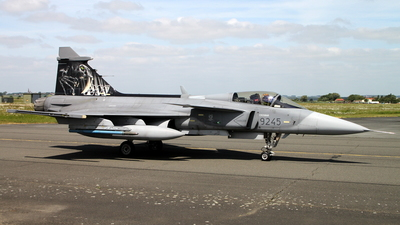 9245 - Saab JAS-39C Gripen - Czech Republic - Air Force