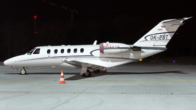 OK-PBT - Cessna 525A CitationJet 2 - Queen Air