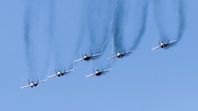 RF-91945 - Mikoyan-Gurevich MiG-29UB Fulcrum - Russia - Air Force
