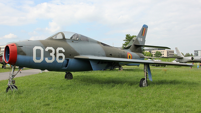FU-36 - Republic F-84F Thunderstreak - Belgium - Air Force