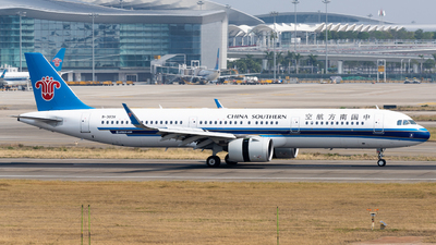 A picture of B303X - Airbus A321271N - China Southern Airlines - © miCHAel TAN