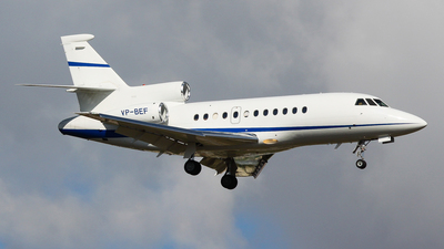 VP-BEF - Dassault Falcon 900EX - Sonair