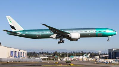 N6009F - Boeing 777-31HER - Boeing Company