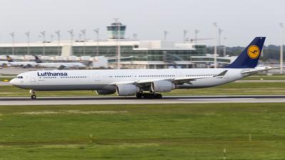 D-AIHW - Airbus A340-642X - Lufthansa