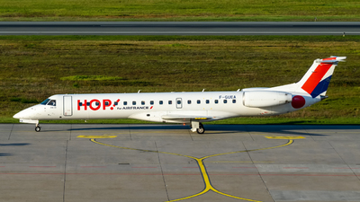 A picture of FGUEA - Embraer ERJ145MP - Air France - © Timo Frisch