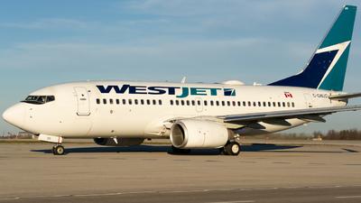 A picture of CGWJO - Boeing 7377CT - WestJet - © Bharath Manvi