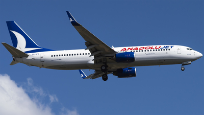 A picture of TCJFN - Boeing 7378F2 - Turkish Airlines - © Furkan Borakazi
