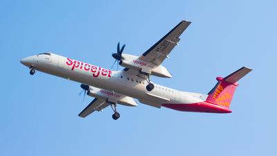 VT-SUT - Bombardier Dash 8-Q402 - SpiceJet