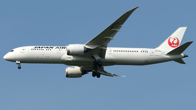 JA870J - Boeing 787-9 Dreamliner - Japan Airlines (JAL)