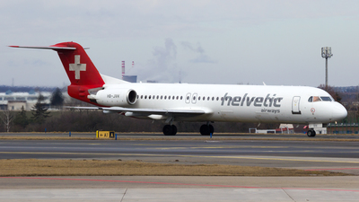 HB-JVH - Fokker 100 - Helvetic Airways