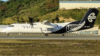 A picture of ZKNEU - De Havilland Canada Dash 8300 - Air New Zealand - © Daniel Wallis