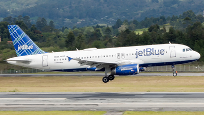 N566JB - Airbus A320-232 - jetBlue Airways