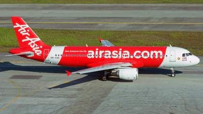9M-AQO - Airbus A320-216 - AirAsia