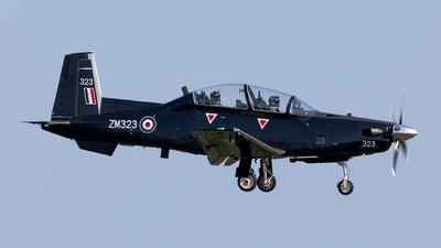 ZM323 - Raytheon T-6C Texan T1 - United Kingdom - Royal Air Force (RAF)
